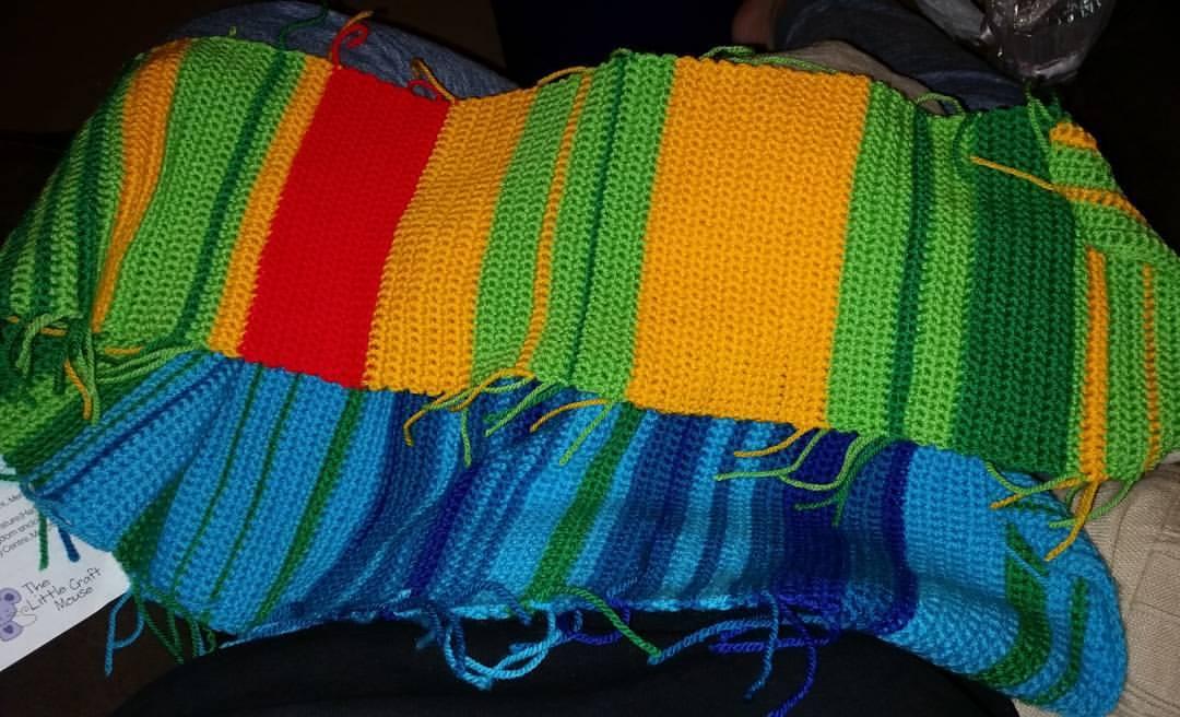 Temperature scarf growing
