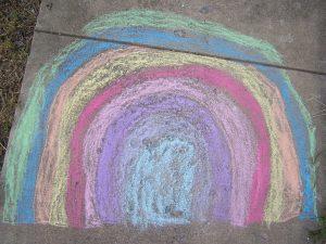Chalk Pavement