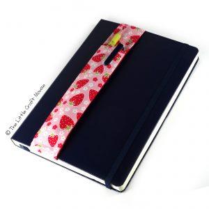 Notebook Bookmark - Strawberries