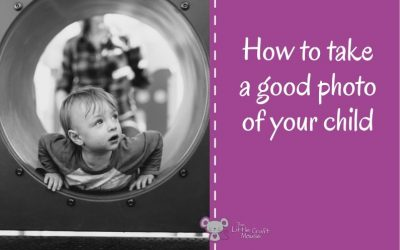 How to take a good photo of your child?