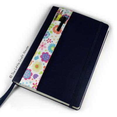 Notebook Bookmark Bright Flowers