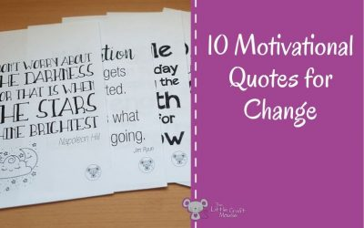 10 Motivational Quotes for Change