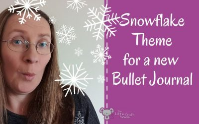 Why Snowflakes are a great theme for a Bullet Journal?