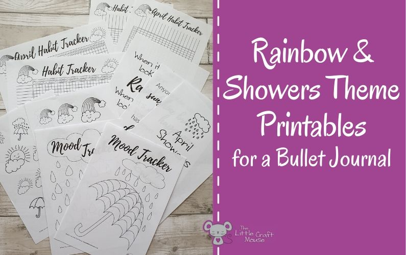 Rainbow & Shower Printables